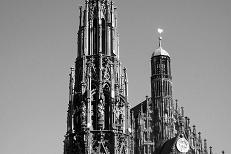 Frauenkirche and Schoener Brunnen,  2009