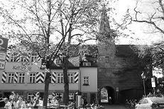 Hallertuerlein with beer garden,  2010
