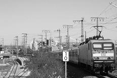 Blick vom Bahnhof Steinbühl,  2010