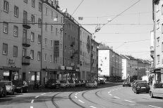 Gibitzenhofstrasse to the City,  2010